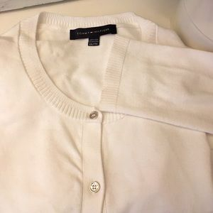 2for $40 Tommy Hilfilger white Cardigan XXL
